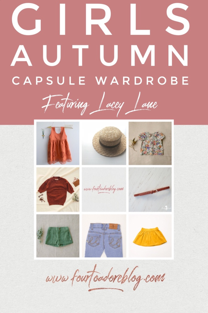 lacey lane autumn capsule wardrobe girls child kids clothes
